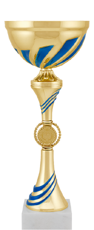 Кубок наградной Байли синий 8878-280-103