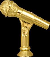 Фигура пластиковая Микрофон