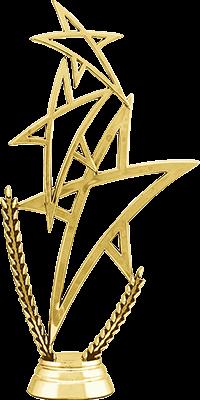 Фигура пластиковая Звезды