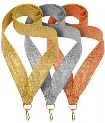 Лента для медали (золото, серебро, бронза)