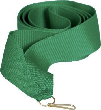 Лента для медали зеленая