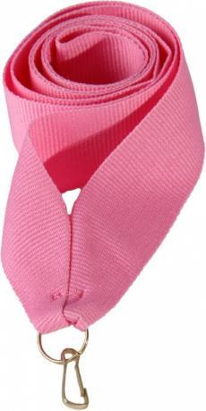 Лента для медали розовая