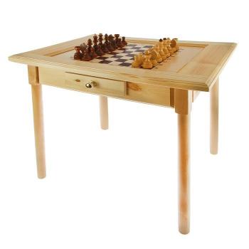 Стол шахматный с фигурками