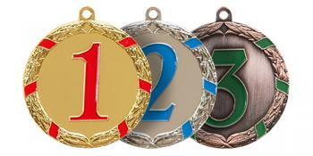Медаль 500, места 1,2,3