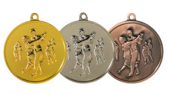 Медаль 015 танцы