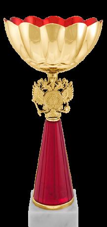 Кубок наградный Весна красный 8574-240-102