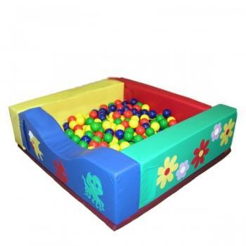Детский сухой квадратный бассейн Малышок