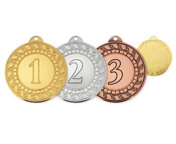 Медаль за 1,2,3 места MK309
