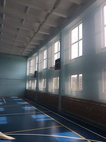 Сетка заградительная для спортзалов кв.м ячейка 100х100 мм