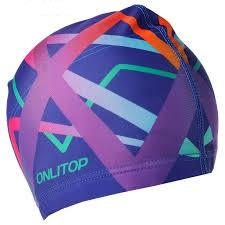 Шапочка для плавания текстиль Onlitop 2388966