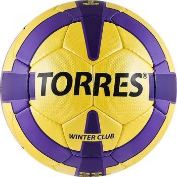 Мяч футбольный Winter Club №5, арт. F30045