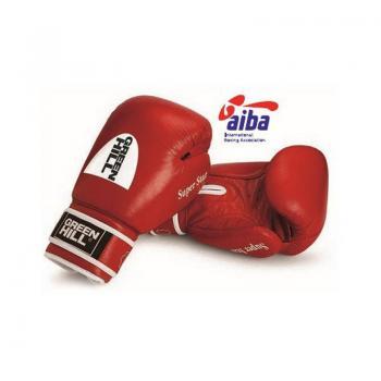 Перчатки боксерские Green Hill Super Star AIBA 12 унц. н/к, арт. BGS-1213