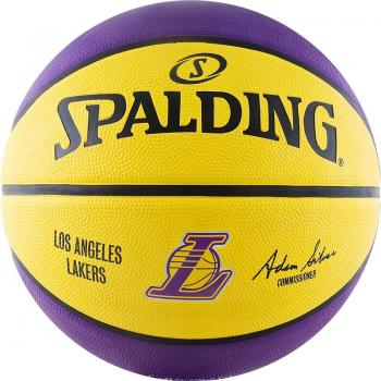 Мяч баскетбольный SPALDING NBA Team Los Angeles Lakers