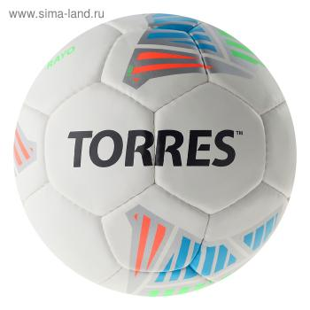 Мяч футбольный TORRES Rayo White