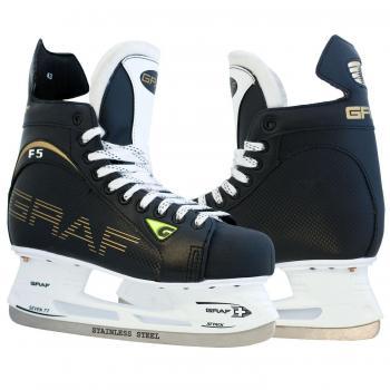 Хоккейные коньки Graf Ultra F-5, арт. 777