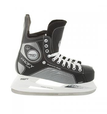 Хоккейные коньки СК PROFY Lux 5000 кожа, р.46
