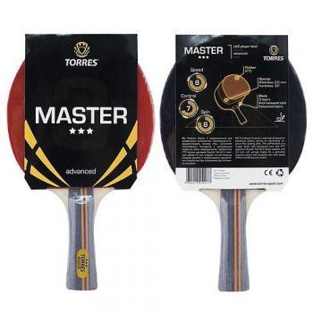 Ракетка для настольного тенниса Torres Master 3*, арт. TT0007