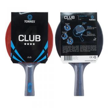Ракетка для настольного тенниса Torres Club 4*, арт. ТТ0008