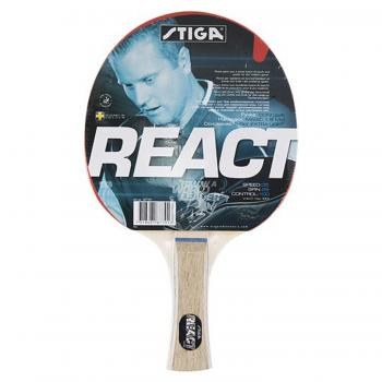 Ракетка для настольного тенниса Stiga React, арт. 1877-01