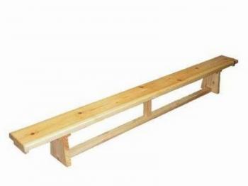 Скамейка гимнастическая 3 м. (дер.ножки)