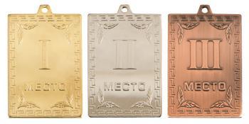 Медаль прямоугольная 052