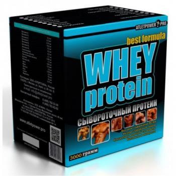 Протеин Atlet Power Сывороточный 1 кг.