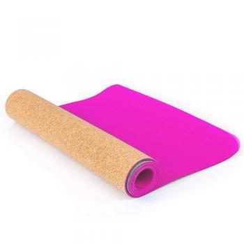 """Коврик для фитнеса и йоги """"Larsen TPE+"""", 173х61х0,4 см, розовый"""
