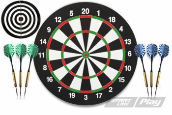 Набор для игры в дартс StartLine Play Pro, арт. BL-1818B
