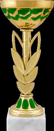 Кубок Колосок, арт. 8593-105 зеленый