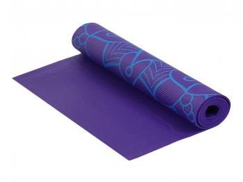 Коврик для фитнеса и йоги Larsen с принтом р.180х61х0,5 см, арт. PVC