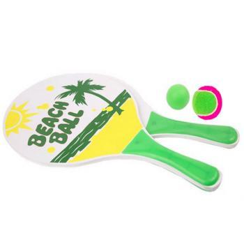 Набор игра 2в1 кэтчбол/пляж.бадминтон Start Up (33х19х0,5), арт. S733