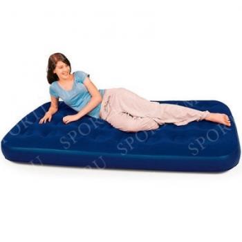 Кровать надув. флок 1,5м /188x99x22см/, арт. 67001