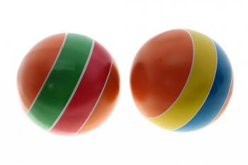 Мяч резиновый (детский) лакир. 200 мм, арт. Р7-200