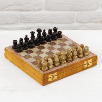 Шахматы каменные 21*20,5*4 см, арт. 2359158