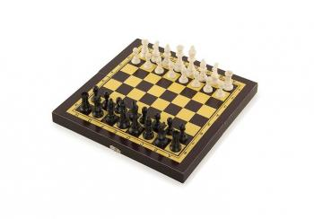 Игра 3 в 1 (шашки.шахм.нарды) Start Up, арт. THF2202B
