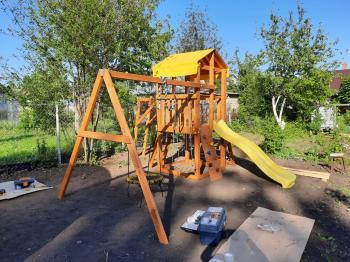 Детская игровая площадка MyFazenda «Король Джулиан»