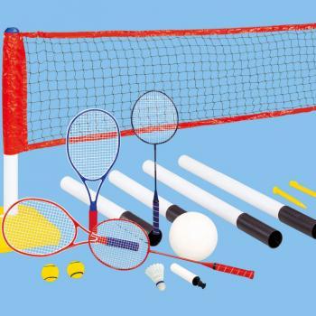 Набор детский DFC для игры в бадминтон волейбол и теннис, арт. GOAL238A