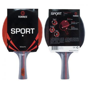 Hакетка для настольного тенниса Torres Sport1* 10, арт. TT0005