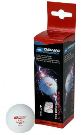 Мяч для настольного тенниса Avangarde 3*** (3 шт)