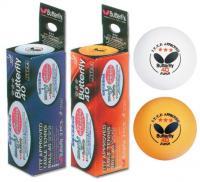 Мяч для настольного тенниса Butterfly 3 шт 3***, TT-B40