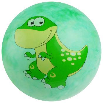 Мяч дет.Динозаврик 25 см , зеленый 3575055