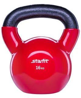 Гиря виниловая 16кг STARFIT DB-401