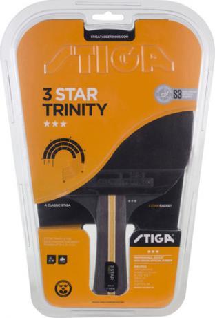 Ракетка  н/т  STIGA Trinity WRB 3зв 1213-3616-01