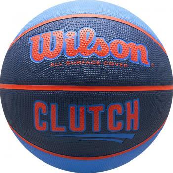 Мяч б/б № 7 WILSON Clutch р.7резина сине-оранж WTB14197XB07
