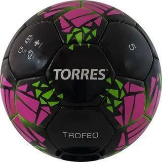 Мяч ф/б Torres Trofeo р.5 PU черный F32015
