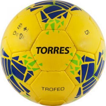 Мяч ф/б Torres Trofeo р.5 PU желтый F32035