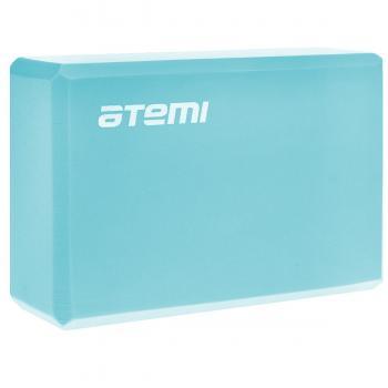 Блок для йоги Atemi 225*145*75 голубой AYB01