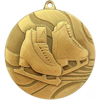 """Медаль """"Фигурное катание"""" MZ 61-50/G(MMC3950/G)"""