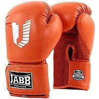 Перчатки бокс. Jabb 10унц. (иск. кожа) оранж JE-4056/Eu Air 56