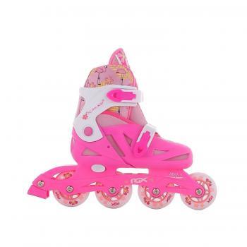 Коньки рол. р. 38-41 Flamingo pink